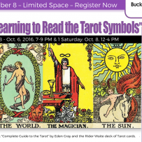 Upcoming Tarot Class